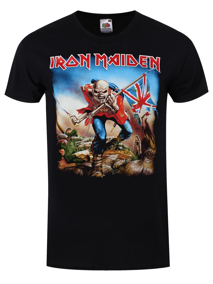Iron Maiden The Trooper Men 39 S T Shirt Ebay