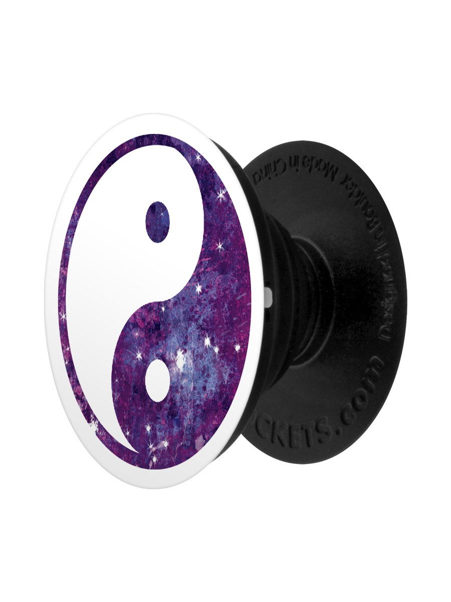 Details zu Yin Yang Galaxy PopSocket - Phone Stand and Grip 4x4cm