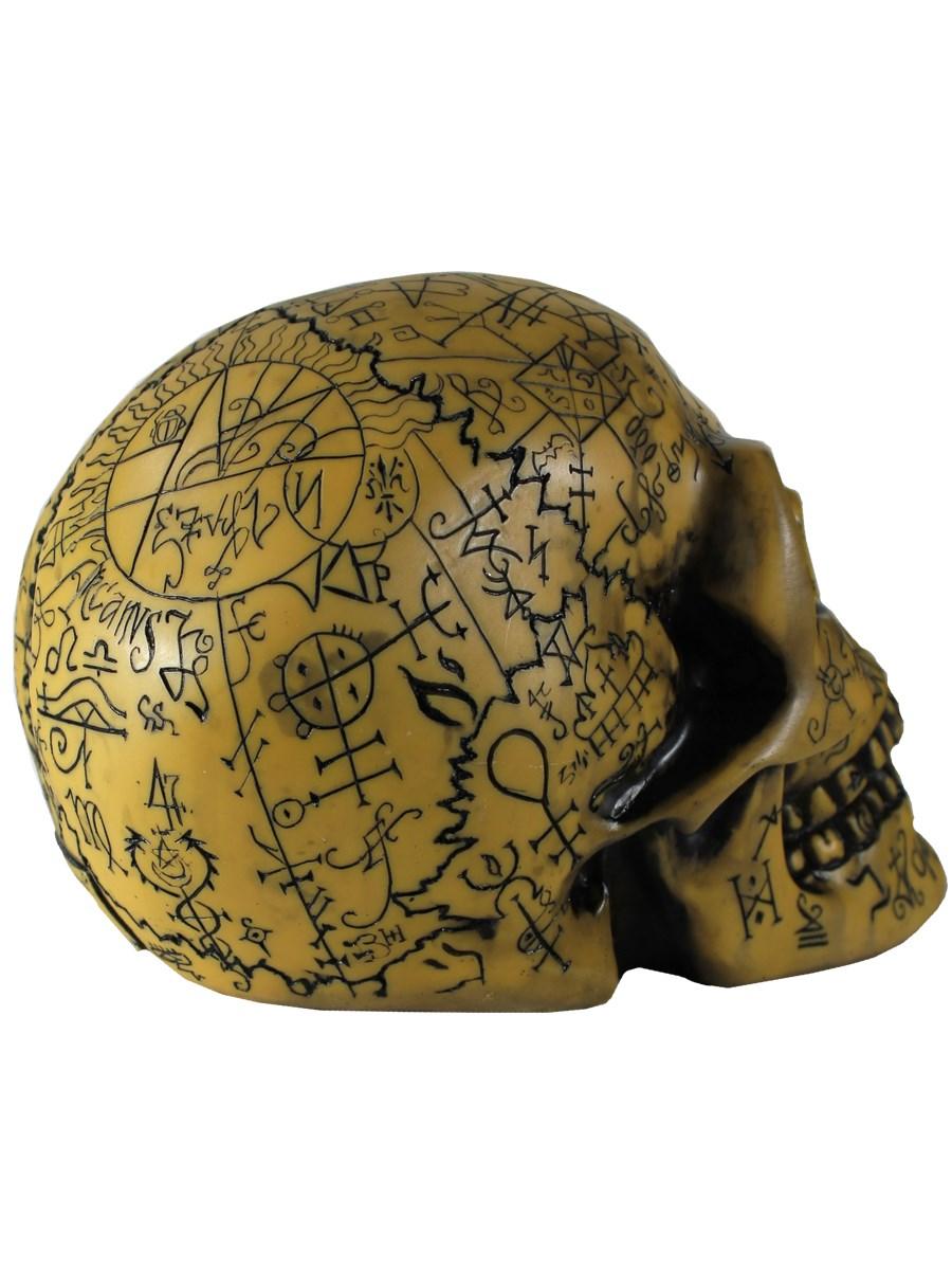 New alchemy vault omega skull ornament ebay for Alchemy skull decoration