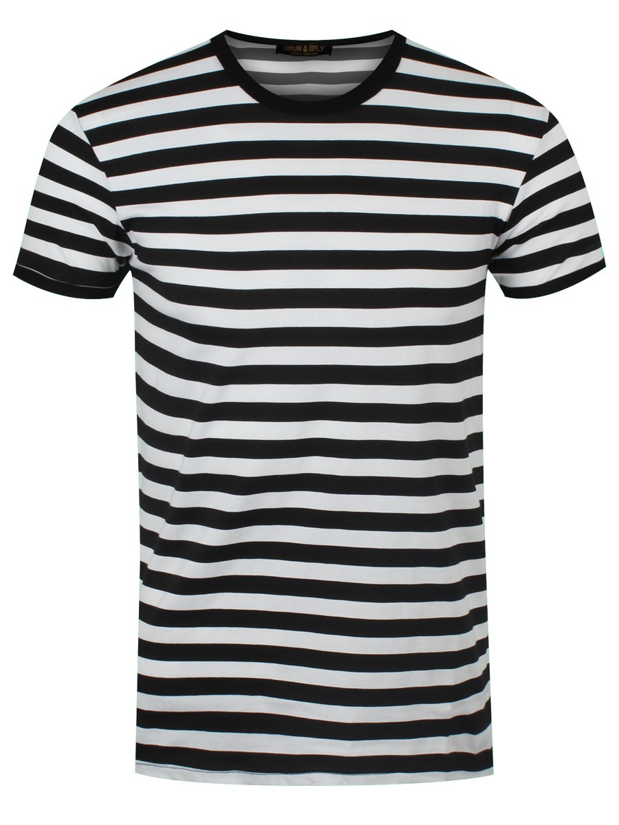 new black and white striped t shirt ebay