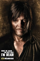 The Walking Dead Daryl Shoot Me Again Poster