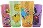 Adventure Time Rainicorn, Jake, Finn &Marceline Pint Glasses