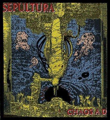 sepultura chaos ad  View all: Sepultura merch…
