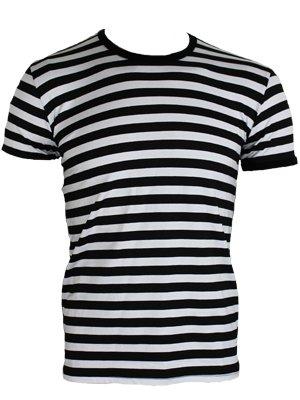 Black White Striped Shirt Mens | Artee Shirt