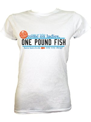 One pound fish very cheap ladies white t shirt buy for Very cheap t shirts online