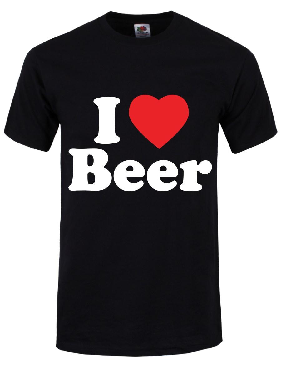 i love beer t shirt black buy online at