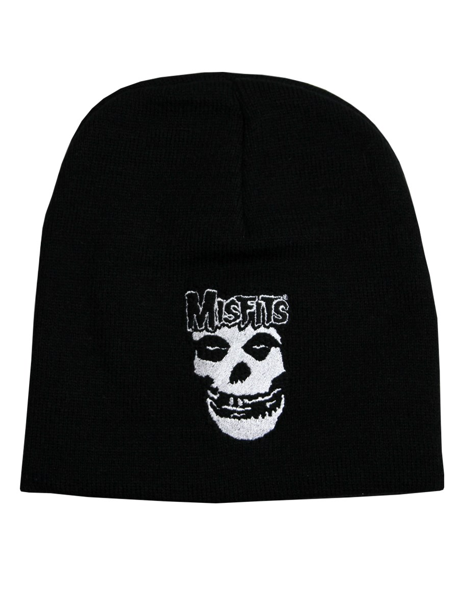 Horror punk patches on beanies