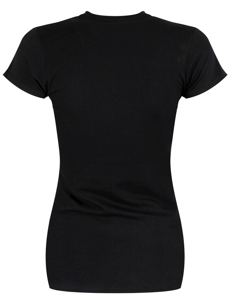 ladies black t shirt - photo #17