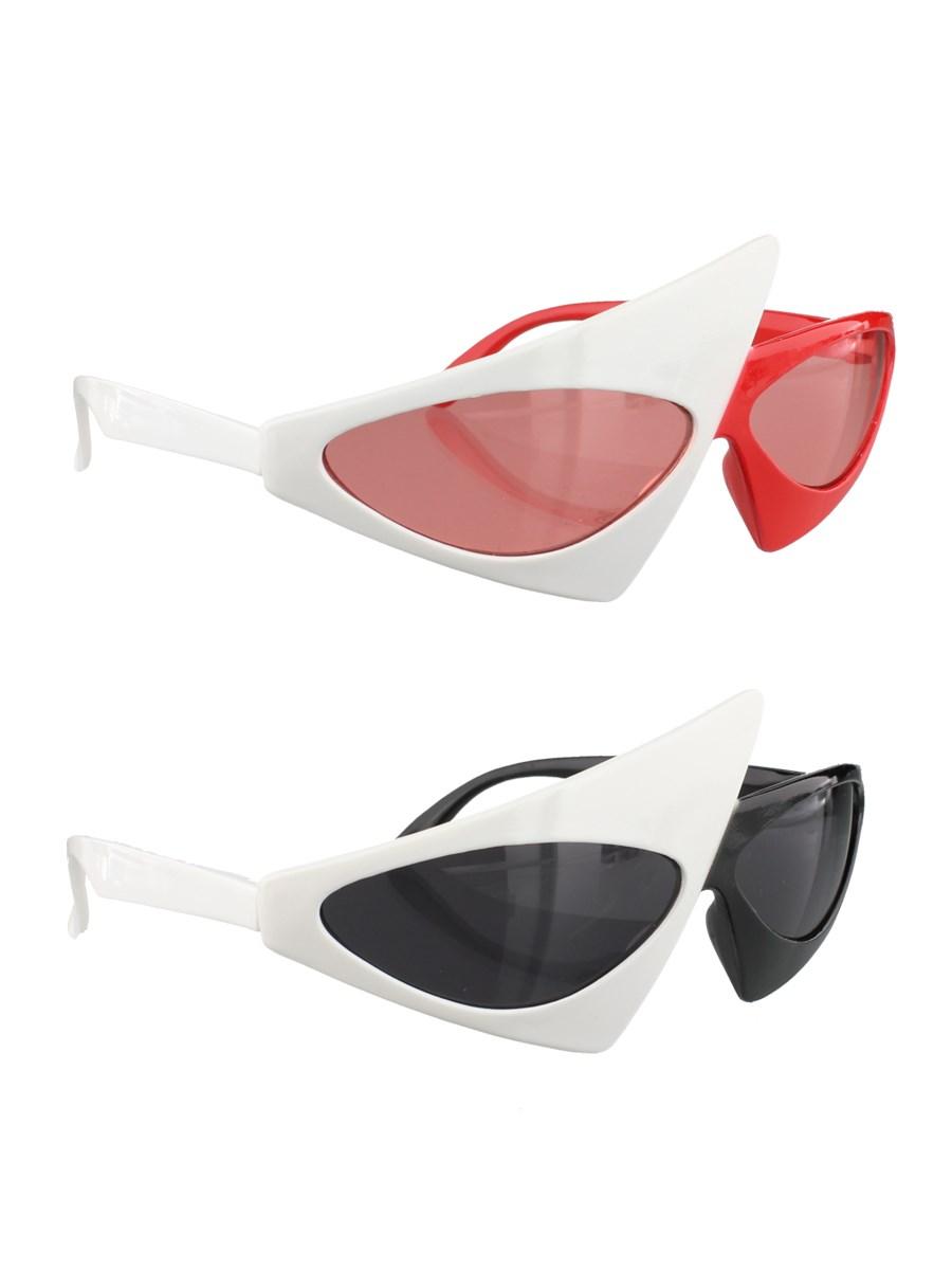 Retro Split Party Glasses Assorted Colours Buy Online