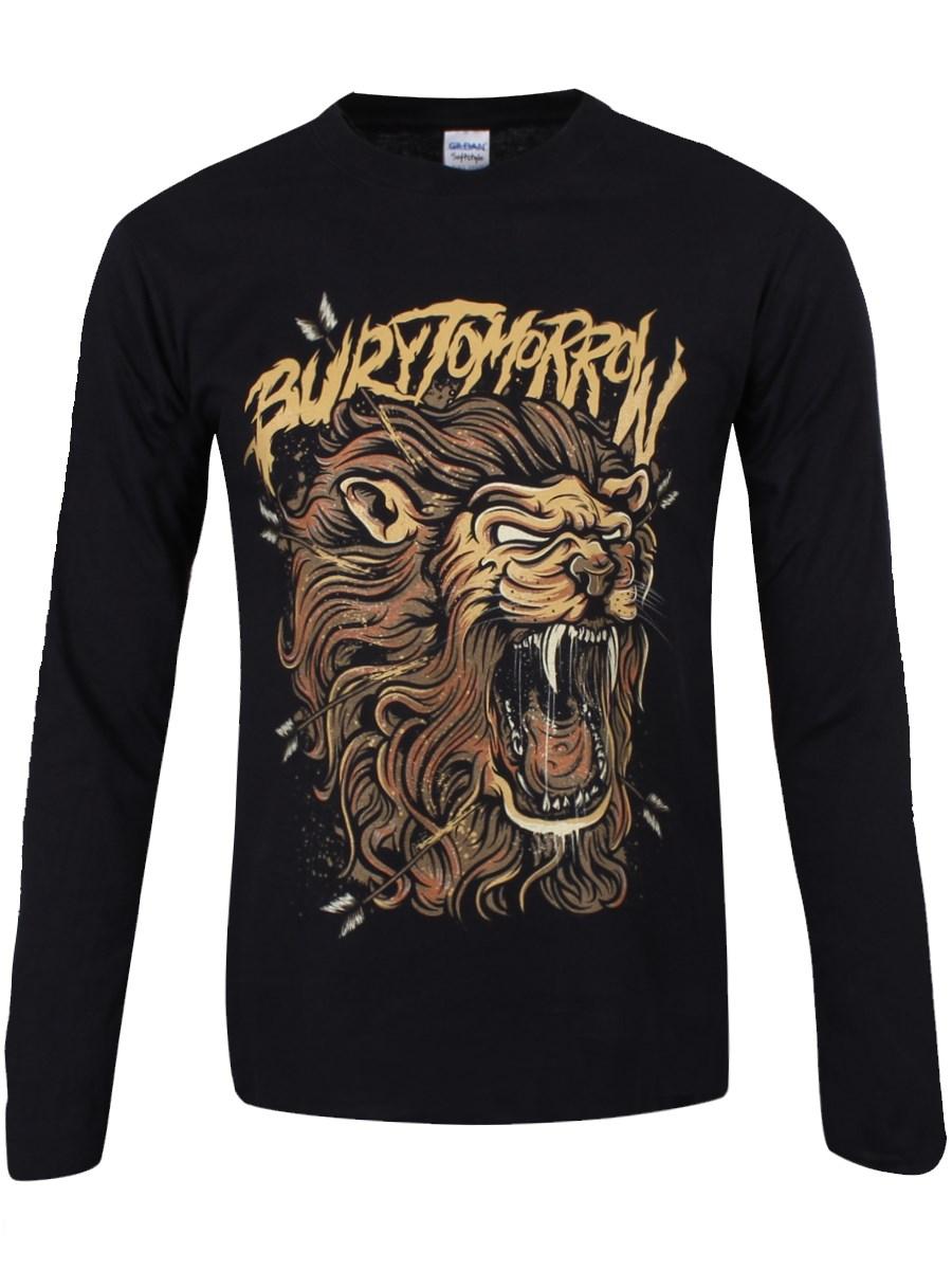 bury tomorrow lionheart men 39 s longsleeve black t shirt buy online at. Black Bedroom Furniture Sets. Home Design Ideas