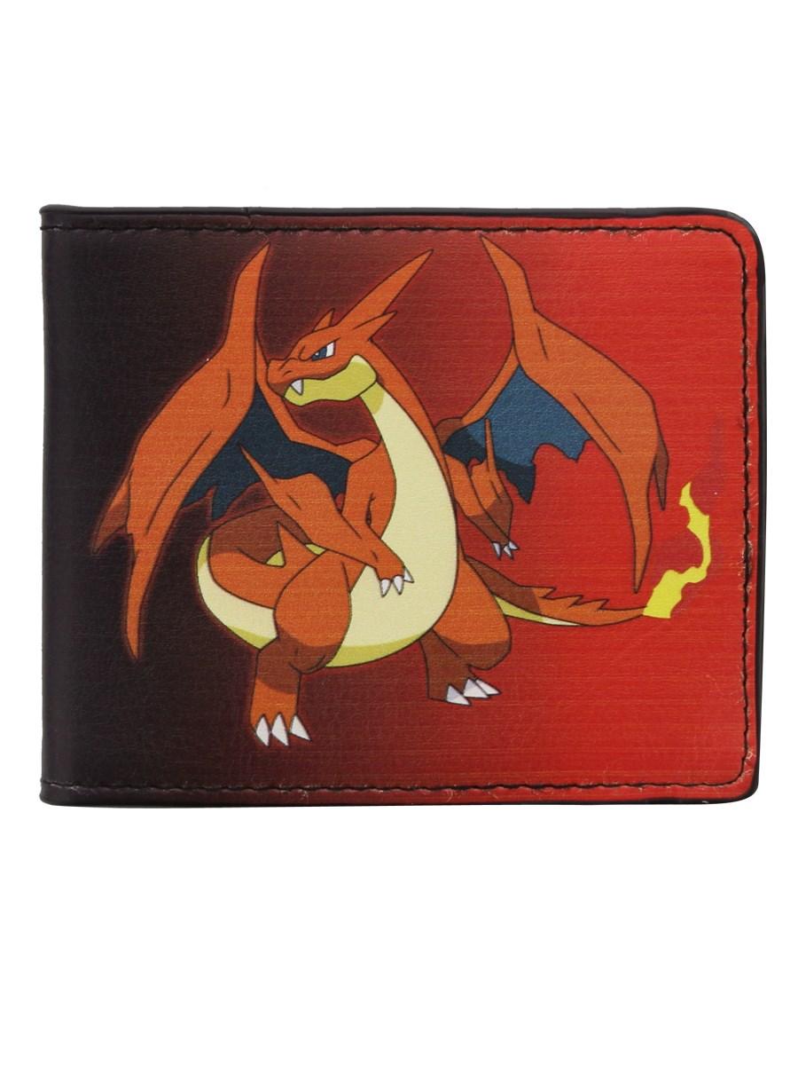Pokemon Mega Charizard Bi Fold Wallet