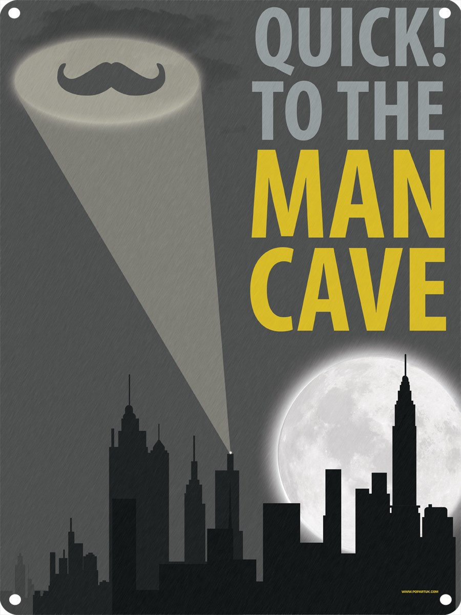 Man Cave Signs To Buy : Quick to the man cave tin sign buy online at grindstore