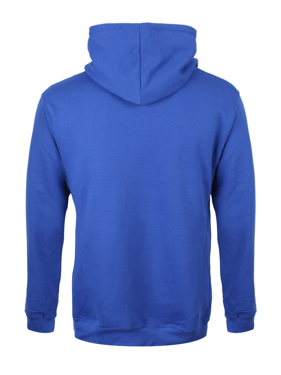 How You Doin? Menu0026#39;s Royal Blue Hoodie Inspired By Friends - Buy Online at Grindstore.com