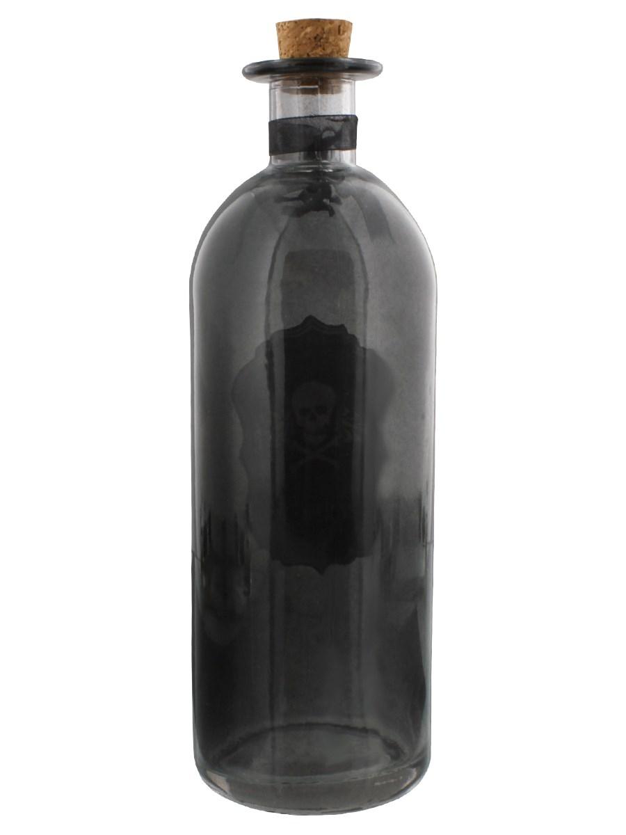 Poison Black Glass Bottle - Buy Online at Grindstore.com