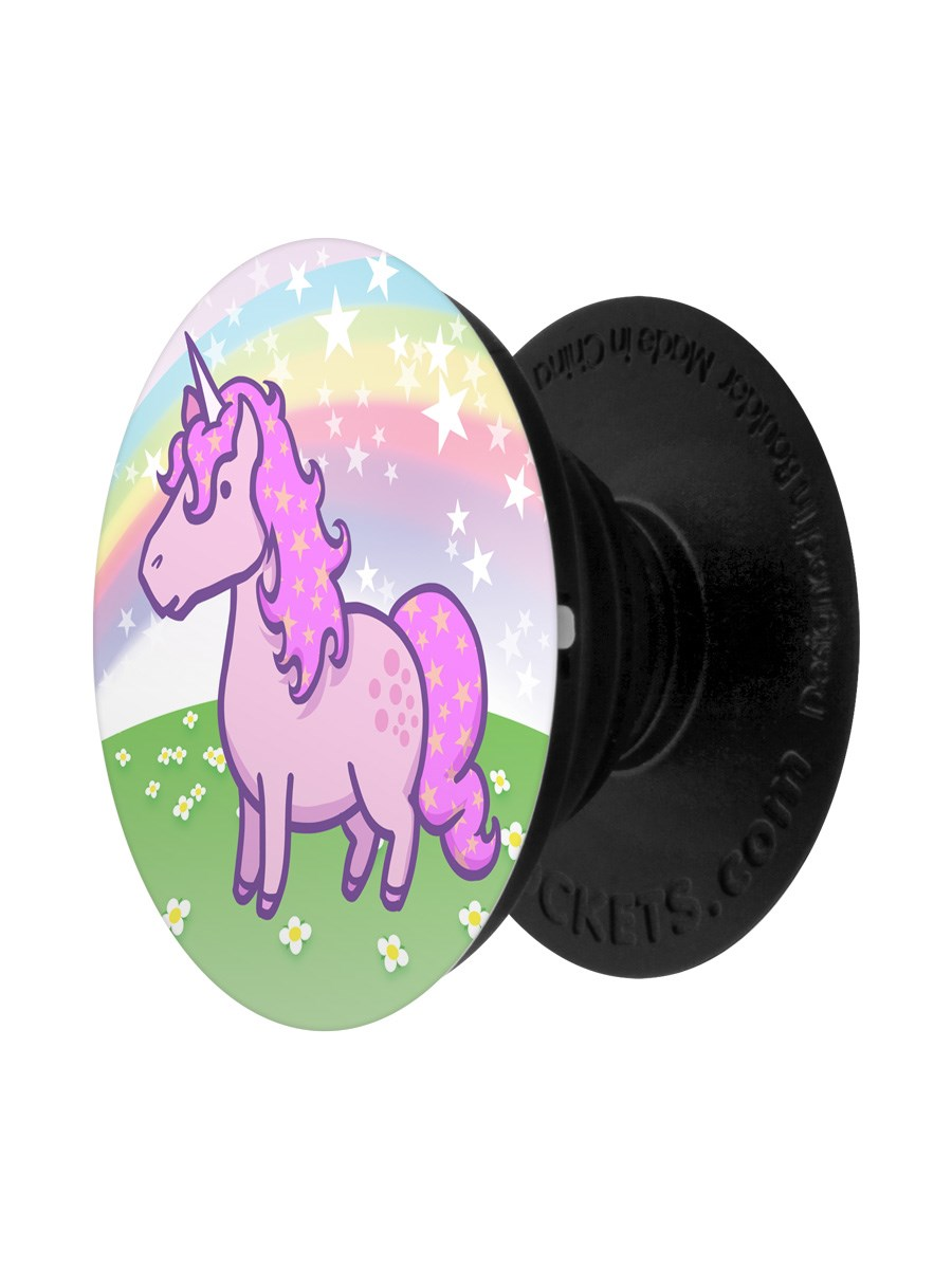 Steve The Unicorn PopSocket - Phone Stand and Grip