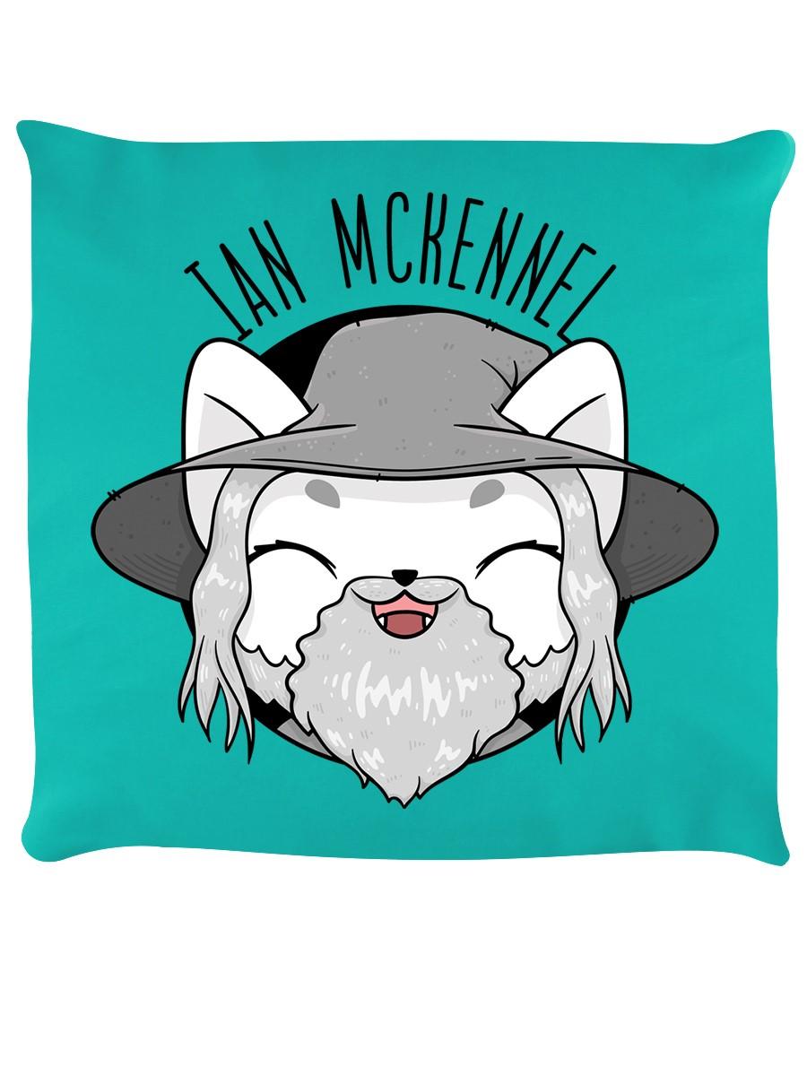 V. I. Pets Coussin Ian Mckennel Turquoise 40x40cm-afficher Le Titre D'origine Lustre Brillant