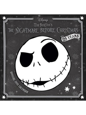 Nightmare Before Christmas 2019 Official Calendar