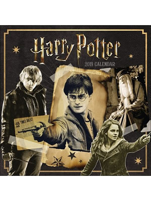 Harry Potter 2019 Official Square Wall Calendar