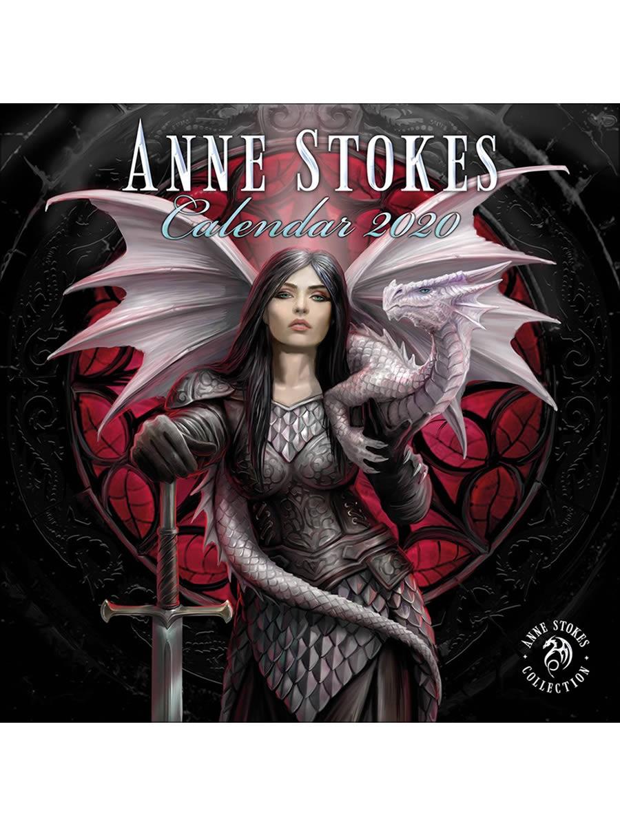 Anne Stokes 2020 Square Calendar