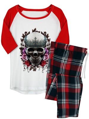 Requiem Collective Imperial Afterlife Ladies Long Pyjama Set