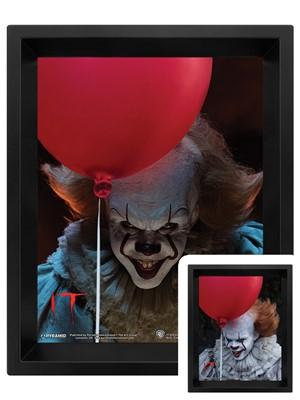IT Pennywise Evil Flip 3D Lenticular Poster