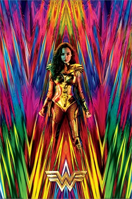 Wonder Woman 1984 (Neon Static) Maxi Poster