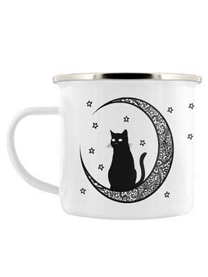 Celestial Kitten Enamel Mug