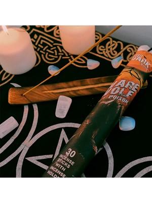 After Dark Scents Incense Sticks With Holder - Warewolf Poison