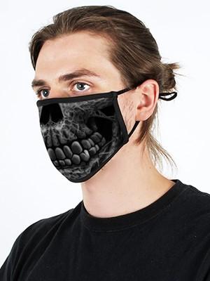 Gothic Skull Adjustable Face Mask
