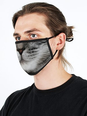 Cat Adjustable Face Mask