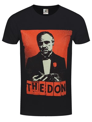 The Godfather The Don Men's Black T-Shirt