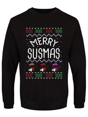 Merry Susmas Men's Black Christmas Jumper
