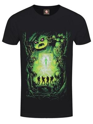 Ghostbusters Dan Mumford Men's Black T-Shirt