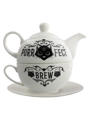 Alchemy Purrfect Brew Tea For One Set