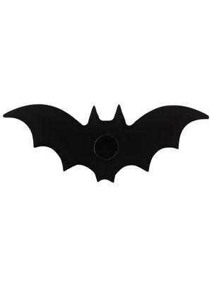 Black Bat Spell Candle Holder