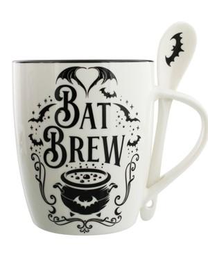Alchemy Bat Brew Mug & Spoon Set