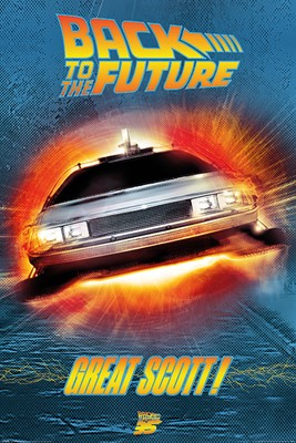 Back to the Future Great Scott! Maxi Poster