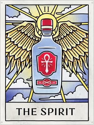 Deadly Tarot Life - The Spirit Tin Sign