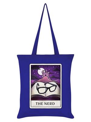 Deadly Tarot Life - The Nerd Royal Blue Tote Bag