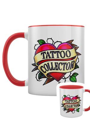 Tattoo Collector Red Inner 2-Tone Mug