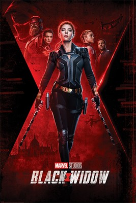 Black Widow Unfinished Business Maxi Poster