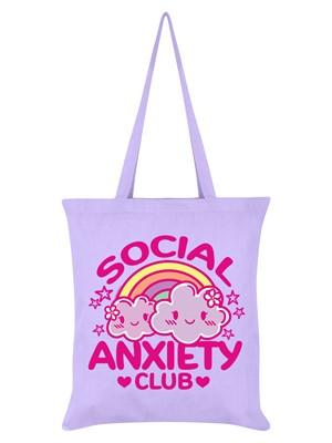Social Anxiety Club Lilac Tote Bag