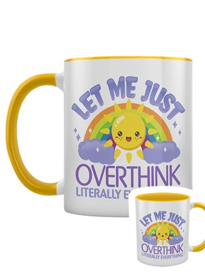 Let Me Just Overthink Literally Everything 2-Tone Mug