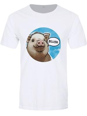 Cute But Abusive - Bellend Men's White Premium T-Shirt