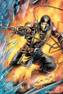 Mortal Kombat Scorpion Maxi Poster