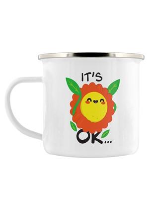 It's Ok To Not Be Ok Enamel Mug