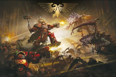 Warhammer 40k The Battle of Baal Maxi Poster