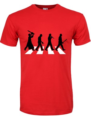 Horror Road Men's Red T-Shirt