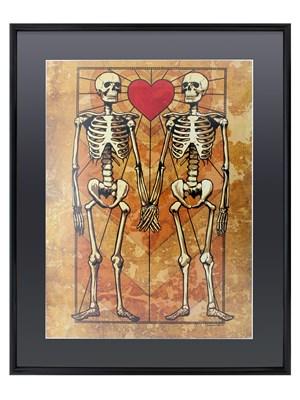 Eternal Love Gloss Black Framed Poster