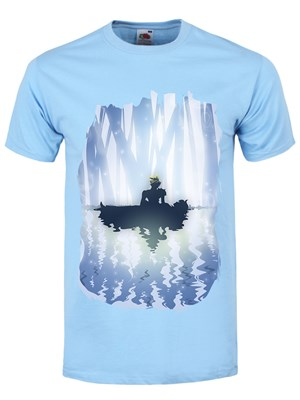Cloud & Aerith Men's Sky Blue T-Shirt